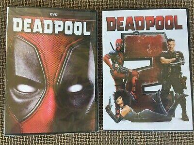 Deadpool 1 & 2 (DVD) 2 Movie Bundle -New-  >>Free Shipping>>>