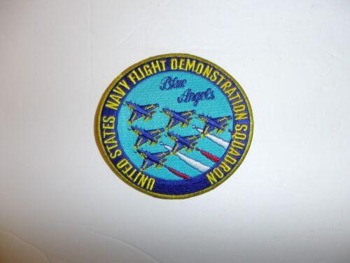 b3415 US Navy Flight Demonstration Squadron patch Blue Angels USN IR19D
