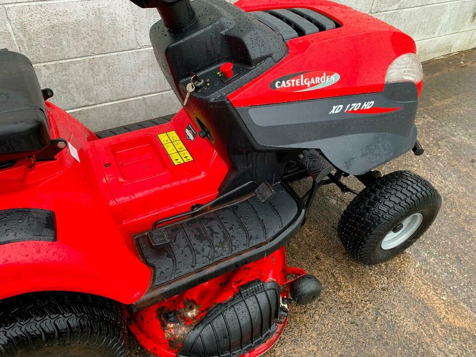 CASTLE GARDEN XD 170 HD TRACTOR MOWER RIDE ON MOWER GRASS MULCHING