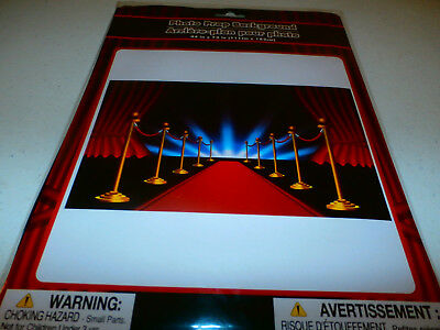 Birthday Party Wall Red Carpet Stage Curtains Photo Prop Background Decoration