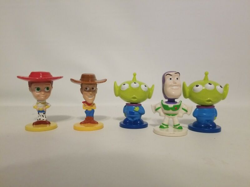 Vintage Kelloggs Bobbleheads Toystory Collection