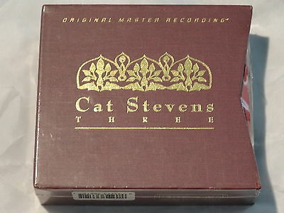 Cat Stevens Mfsl Numbers Izitso Back To Earth  Sealed Box Low   0000078