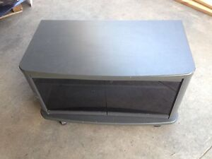 Small SONY TV/Entertainment unit on wheels glass doors Salisbury North Salisbury Area Preview