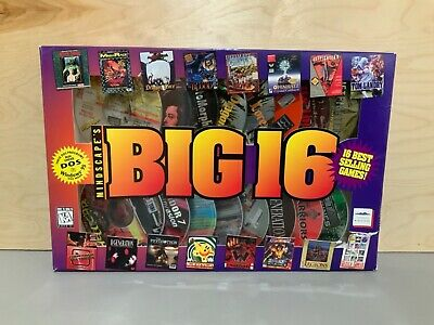 Mindscape's Big 16 16 Best Selling Games NIB