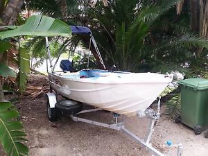 3.7m boat n trailer Carrara Gold Coast City Preview