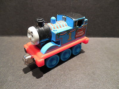 Thomas the Train Engine  Take Along N Play Happy Holidays 2010 DIECAST METAL