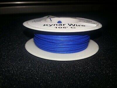 30 Awg Solid Kynar Wire Ul1423 Blue 100 Ft Spool