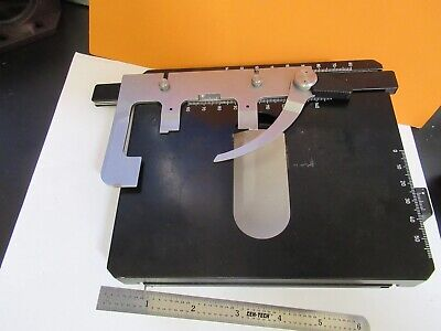 Zeiss Germany Stage Table Xy Micrometer Microscope Part As Pictured 14-ft-25
