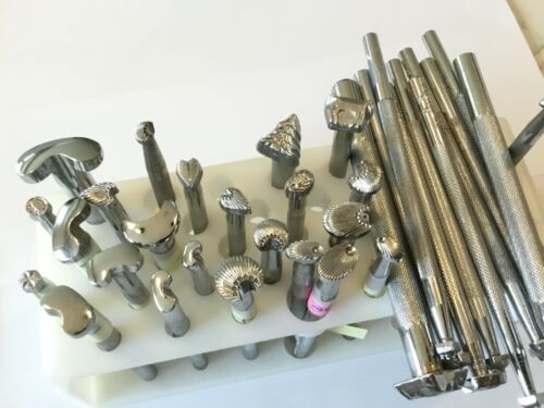 SELECT: Leather stamping tools Please read descriptions, see 2-4 pictures/ tool