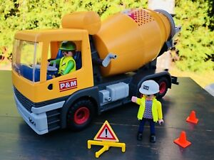 PLAYMOBIL camion de ciment
