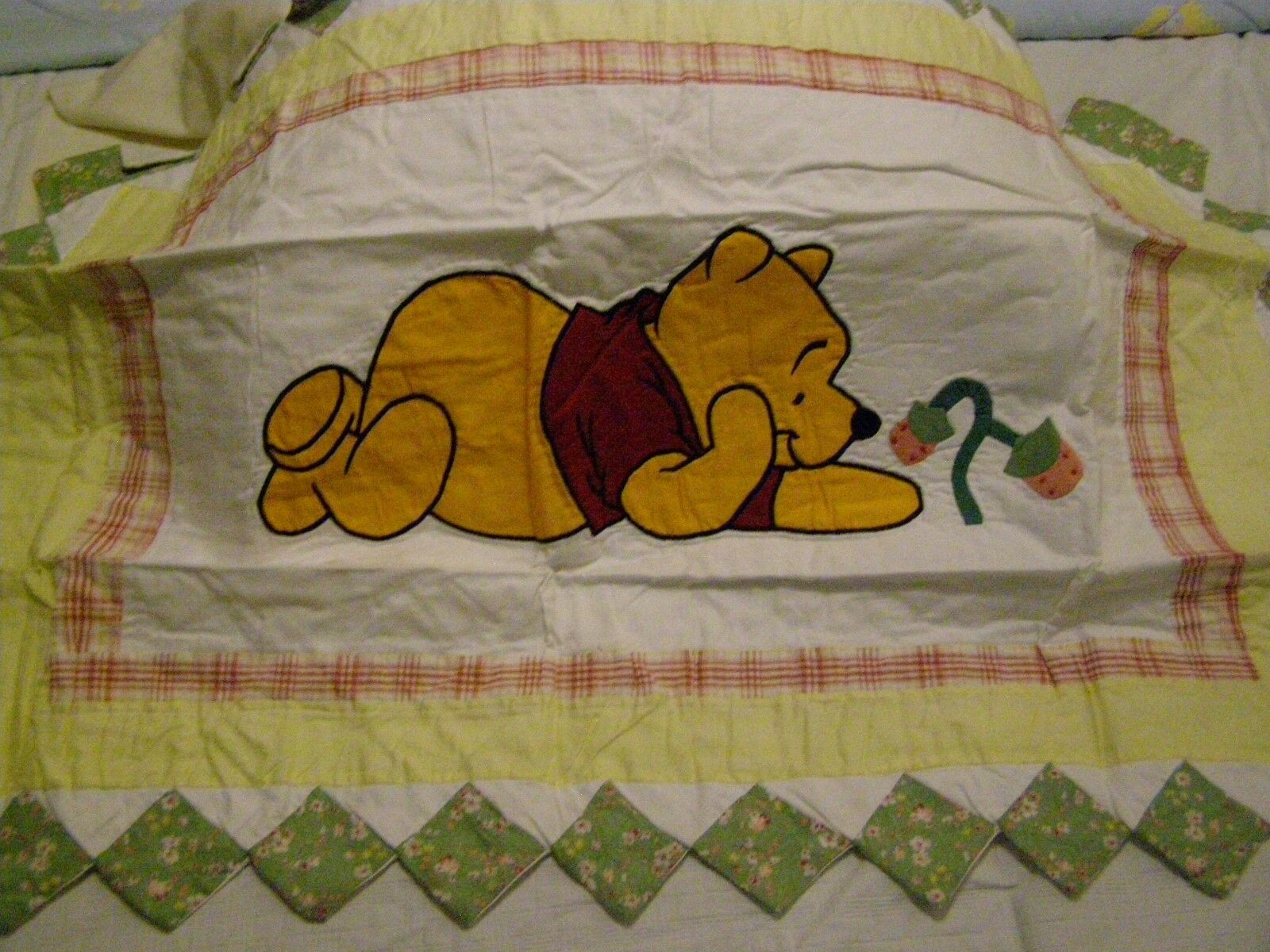winnie the pooh quilted pillow shams king