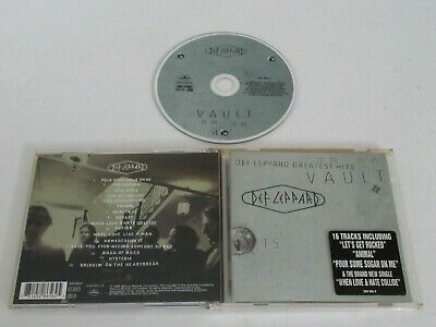 DEF LEPPARD/VAULT: DEF LEPPARD GREATEST HITS 1980 1995(MERCURY 528 656) CD ALBUM