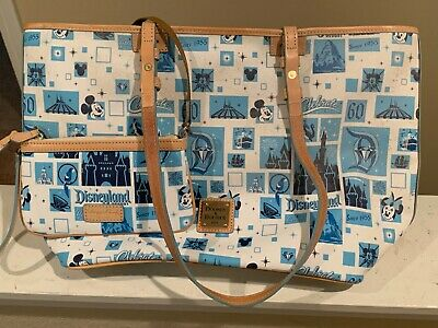 Dooney and Bourke Disneyland 60 year Anniversay large purse and wallet.  Tags