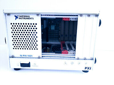 National Instruments Ni Pxi-1031 4-slot 3u Pxi Chassis Pn 190871j-01