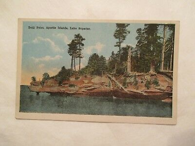 Drill Point Apostle Islands Lake Superior Postcard