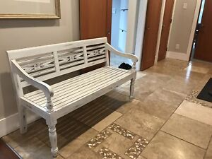 Funky Solid wood bench