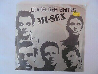 Computer Games - MI-SEX Computer games 45RPM   (Very Good Condition)