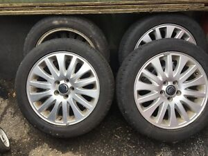 "4 Volvo S80 17"" mags with Goodyear 225/50/R17 Runflat"