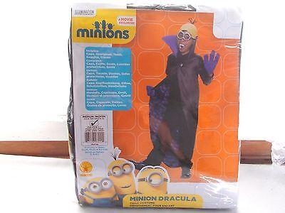 Minion Dracula Child Halloween Costume Medium 8 - 10 (Minion Dracula)
