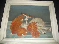 Quadro Dipinto Olio Su Tavoletta Natura Morta - natura - ebay.it