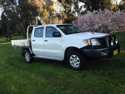 2006 Toyota Hilux 4x4 Dual Cab Turbo Diesel- IMMACULATE Condition Dubbo 2830 Dubbo Area Preview