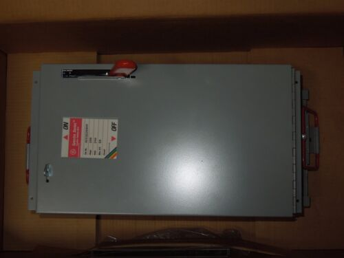 Ge Spectra Ads32200hm 200a 240v 3ph Fusible Main Switch Unit New Surplus