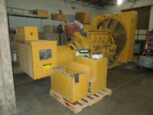 Caterpillar 3508  Generator 1000kW 1250KVA 3ph 480Y/277V AC 685 Frame 10 Wire