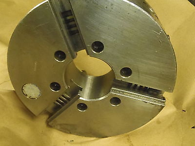 Pratt Burnerd International 10 3 Jaw Self Center Precision Chuck