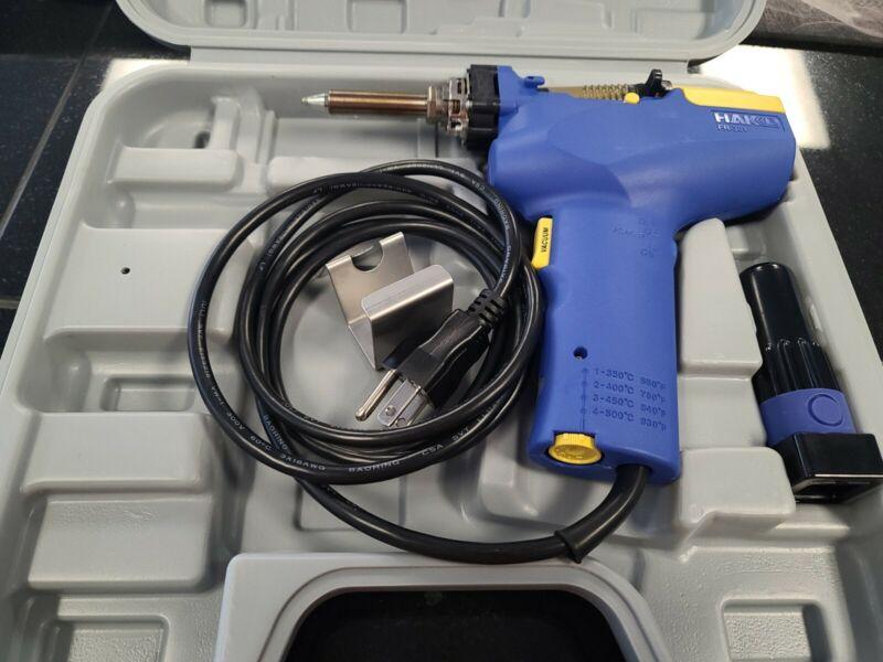 HAKKO FR301-82 100V Desoldering Tool with Case Expedited FR301 82 F30182 NEW