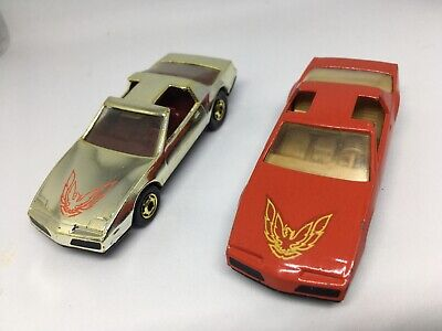 Hot Wheels Hot Ones 80's Firebird Chrome Mail In Promo Vintage Lot