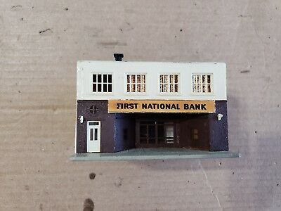 Model Power N Scale First National Bank