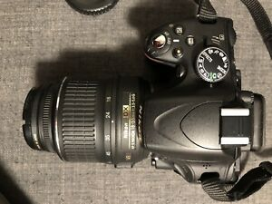Nikon d5100 DSLR Camera and 2 Lenses