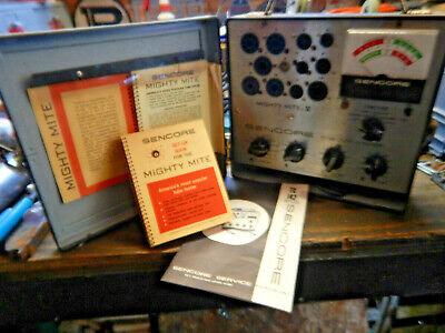 Older Sencore Tc-142 Tube Checker Tester