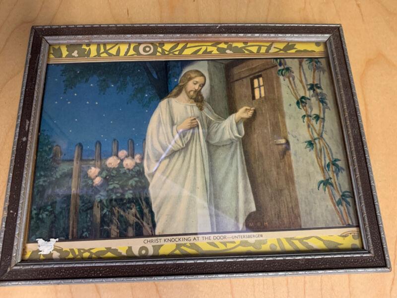 "antique -PRINT ""JESUS KNOCKING AT THE DOOR"""