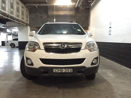 14 holden Captiva manual,factory warranty,low kms, cheap sale!!! Strathfield Strathfield Area Preview