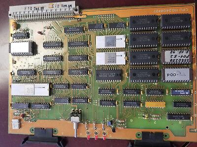 Netstal Control Card Cpu 110.240.6127 Injection Molding Machine