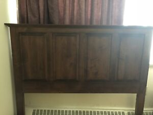 Solid Maple Queen bedroom set