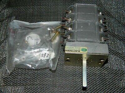 New Electroswitch 505a625g01 Type W-2 Rotary Switch 600v 8a 300v 20a