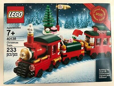 Lego 40138 Christmas Train Limited Edition 2015 Holiday Retired SEALED NEW RARE