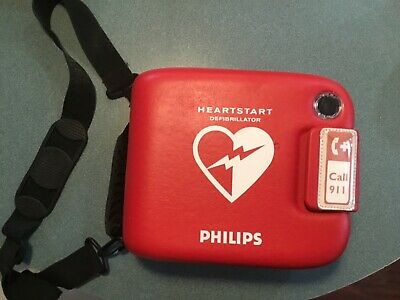 Philips Heartstart Frx Aed With Battery Pads Case Read Description Italian