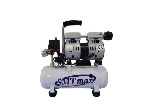 New 1/2HP, 2.4 Gallon. Medical Noiseless & Oil Free Dental Air Compressor 110v