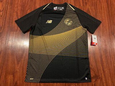 2019 Gold Cup Men's New Balance Costa Rica Black Soccer Jersey Medium M image