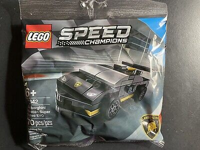 Lego 30342 Speed Champions Lamborghini Huracan Super Trofeo EVO Polybag 70PC Set