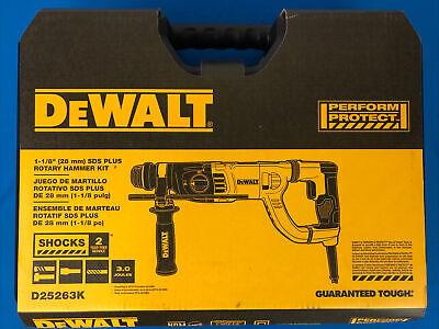 Dewalt D25263k 1-18 In. Sds Plus Rotary Hammer Kit Brand New