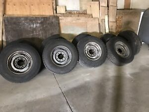 245/75 R16 tires and rims
