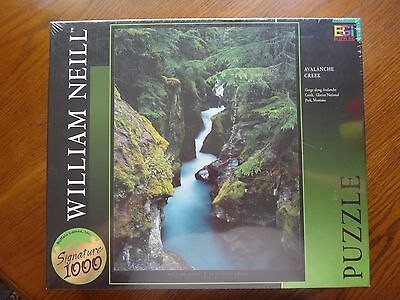"Buffalo Games~1026 Piece Puzzles~WILLIAM NEILL~AVALANCHE CREEK~27""x 20"""