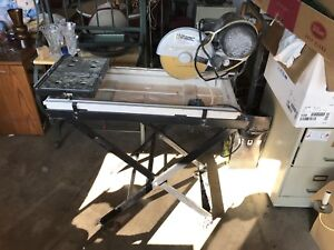 Tile table saw wet saw