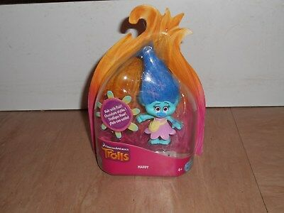 TROLLS ~ DREAM WORKS ~ HAIR WITH FLAIR ~ MADDY ~ BRAND NEW.