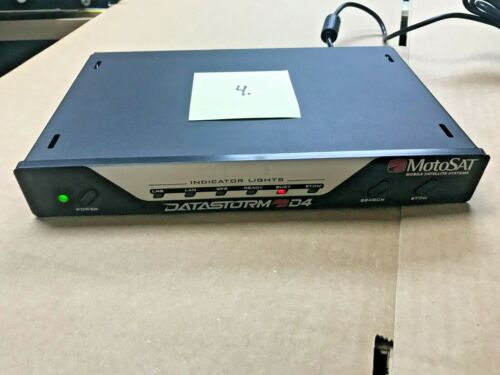 MotoSat internet satellite dish controller model D4
