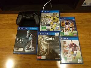 PS4 500GB with 5 games Notting Hill Monash Area Preview